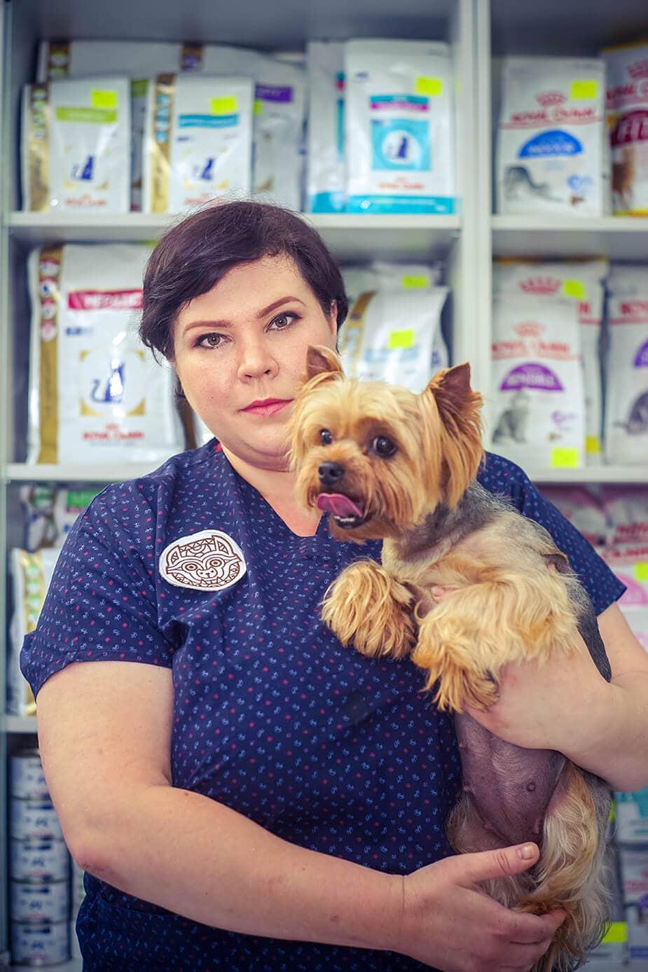 Ветеринарная клиника в Алматы: Шарапова Марина Владимировна